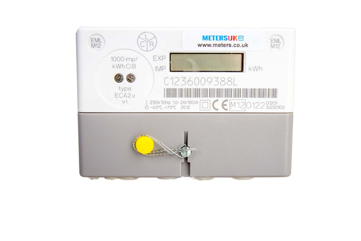 how to read a single phase electric meter