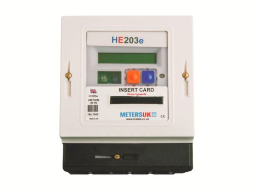 HE203E Prepayment meter Picture