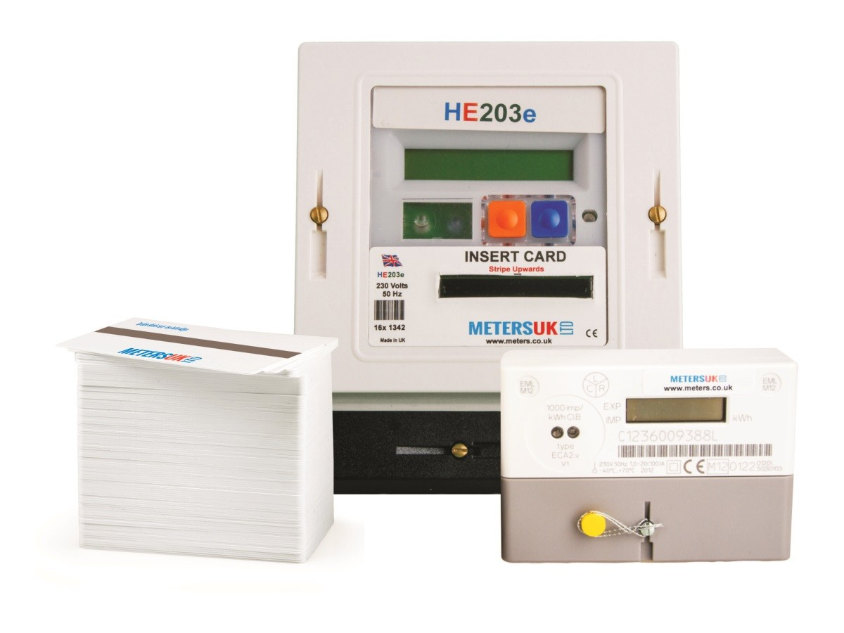 Prepayment Meter For Domestic Electricity Single Phase Card Operated Magnetic Stripe Wiring Diagram Use
