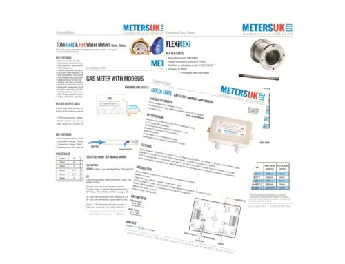 New Specification Sheets