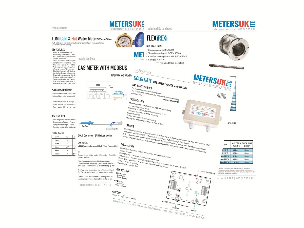 New Specification Sheets Meters Uk Ltd Modbus Wiring