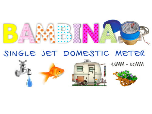 Bambina Single Jet Water Meter