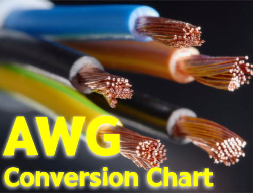 American Wire Gauge (AWG) Cable / Conductor Sizes
